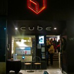 Cube Gallery sign